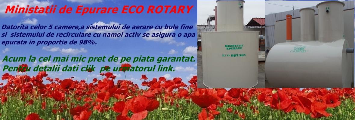 Eco Rotary - detalii ministatii epurare