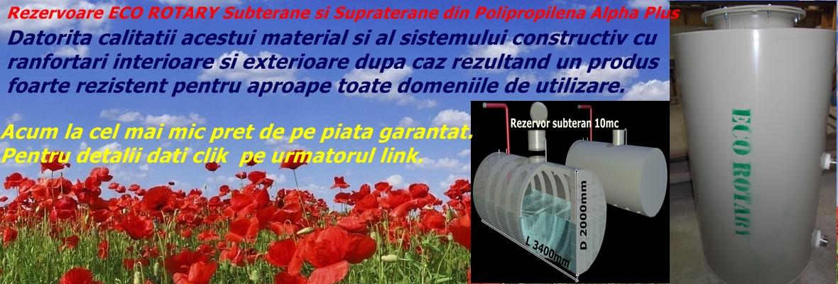 Eco Rotary - detalii rezervoare